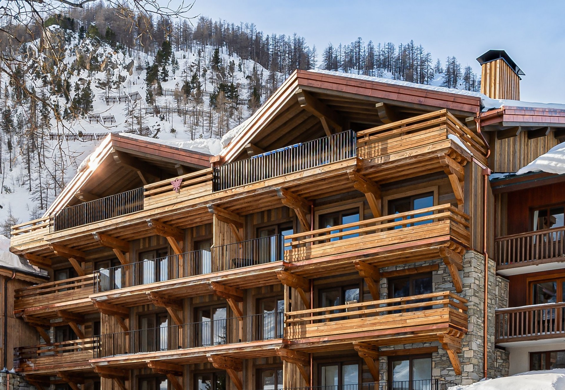 Val D'Isère Location Chalet Luxe Amazonite Résidence