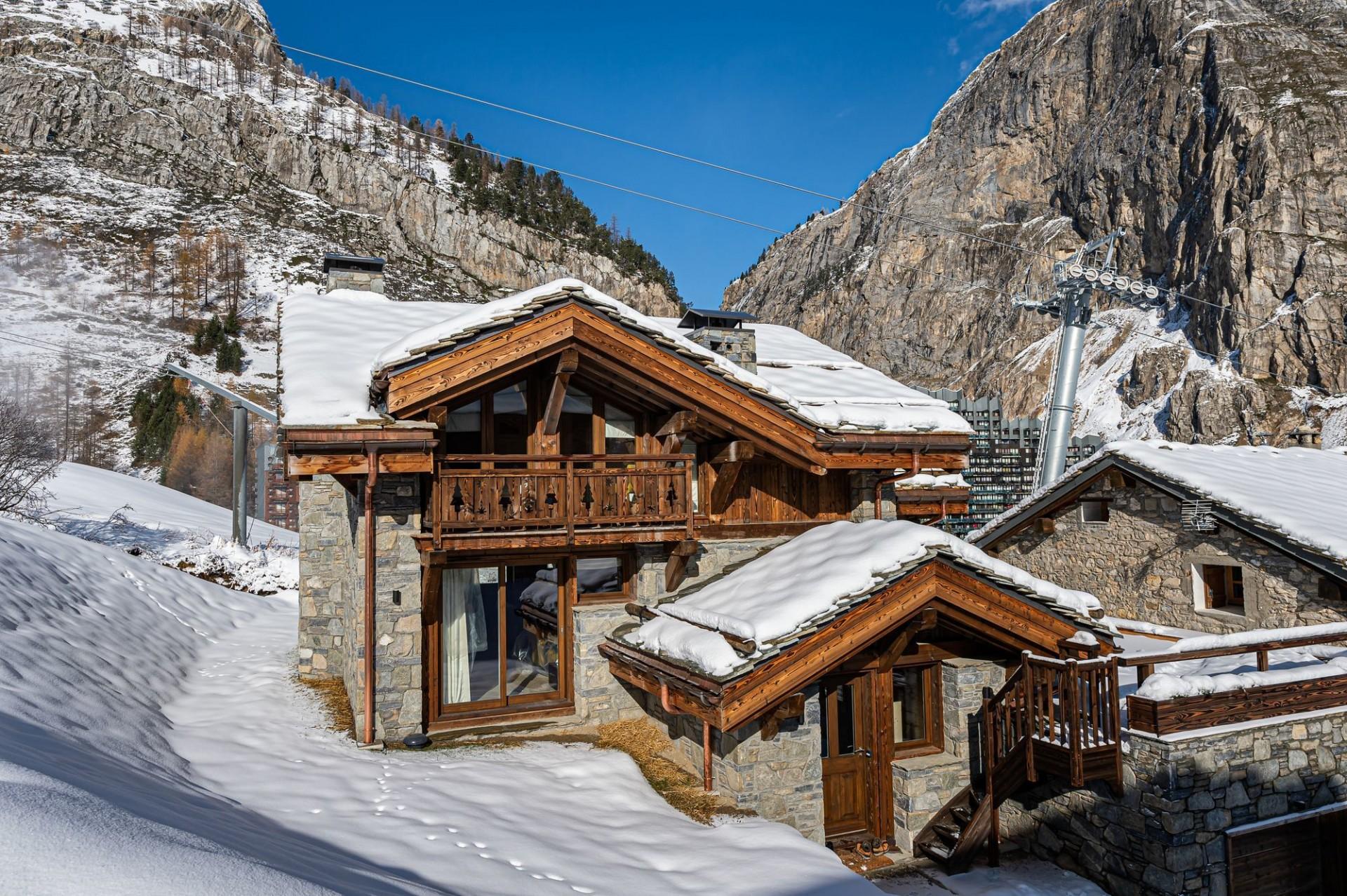 Val d'Isère Luxury Rental Chalet Eclaito Exterior