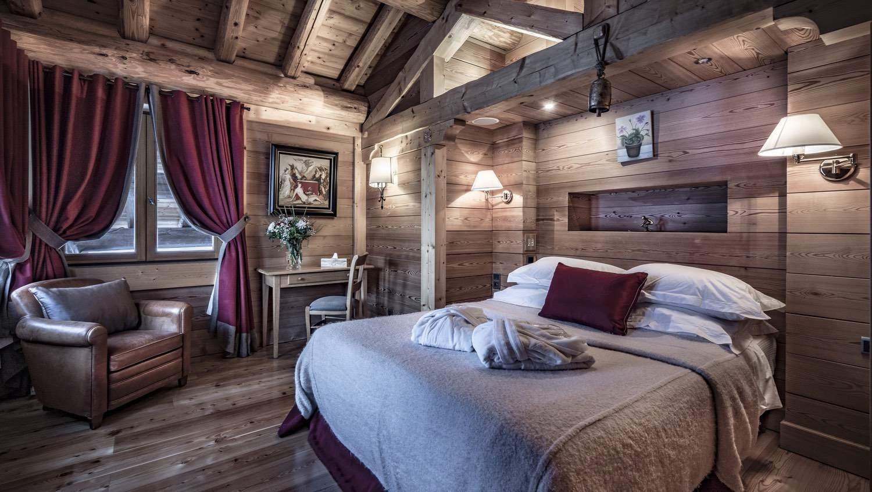 Val d'Isère Location Chalet Luxe Grenat Almandin Chambre 4
