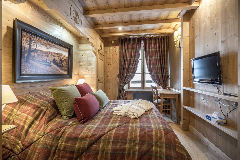 Val d'Isère Location Chalet Luxe Grenat Almandin Chambre
