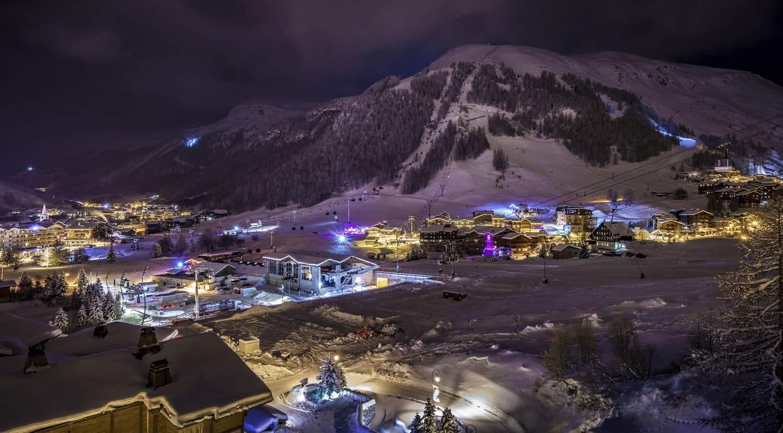 Val d'Isère Location Chalet Luxe Grenat Almandin Vue
