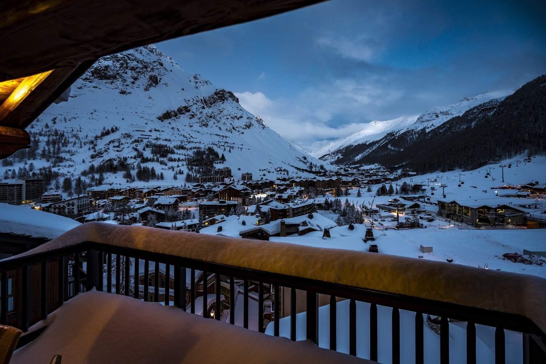 Val d'Isère Location Chalet Luxe Grenat De Boheme Vue Montagne