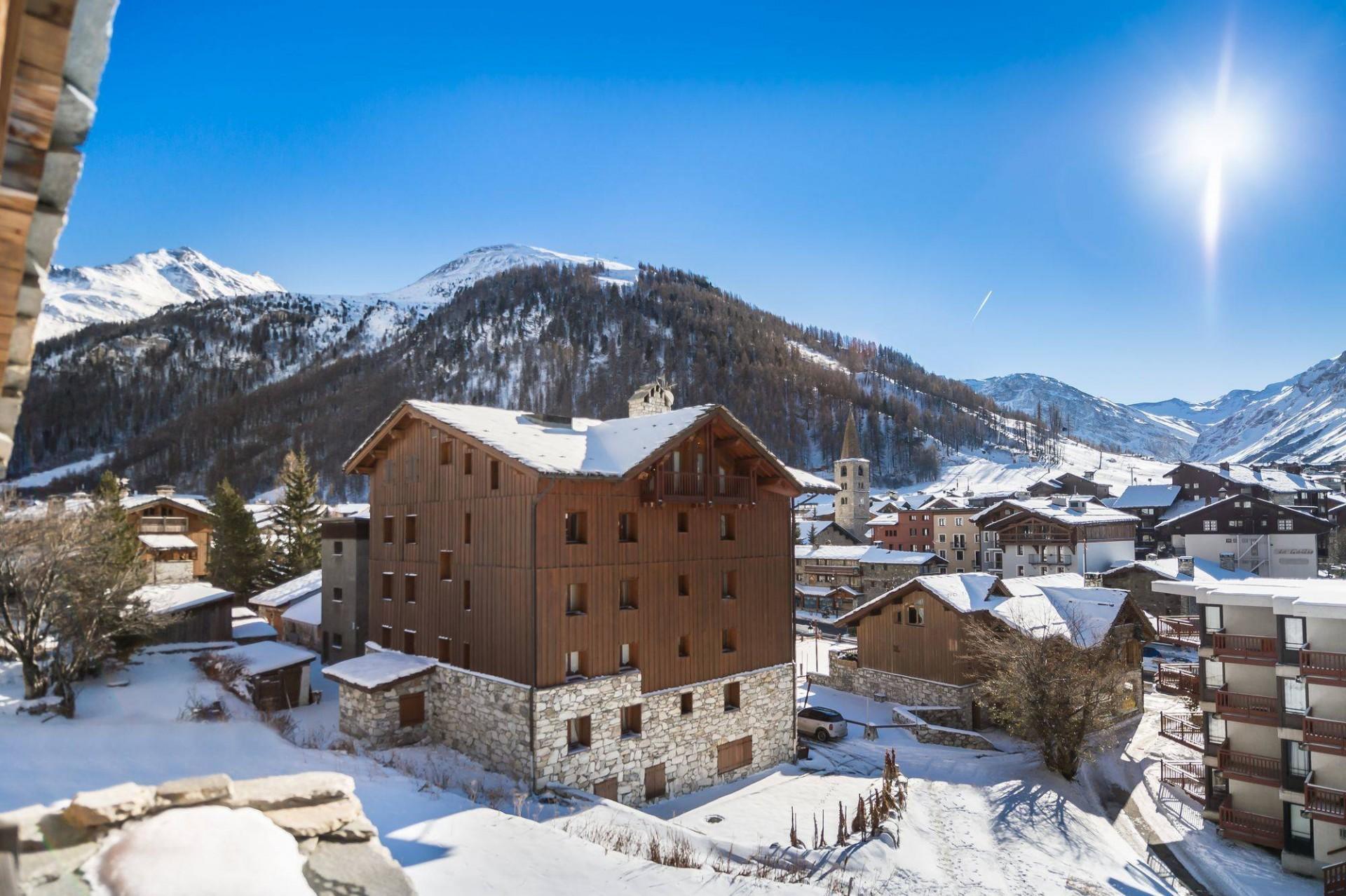 Val d'Isère Location Chalet Luxe Jaden Vue