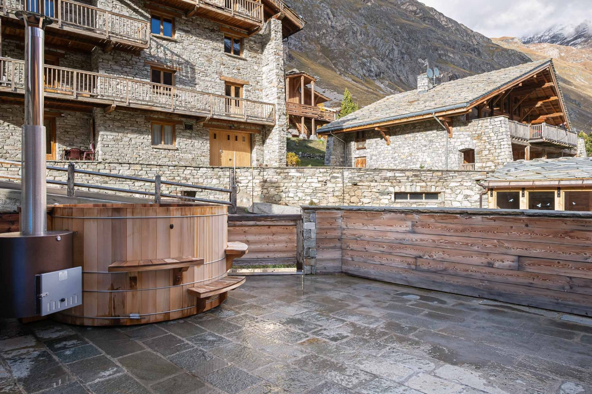 Val d'Isère Location Chalet Luxe Tellanche Bain Nordique 3