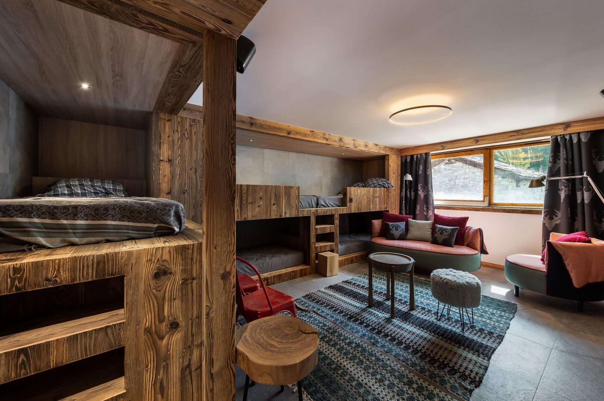 Val d'Isère Location Chalet Luxe Tellanche Chambre 4