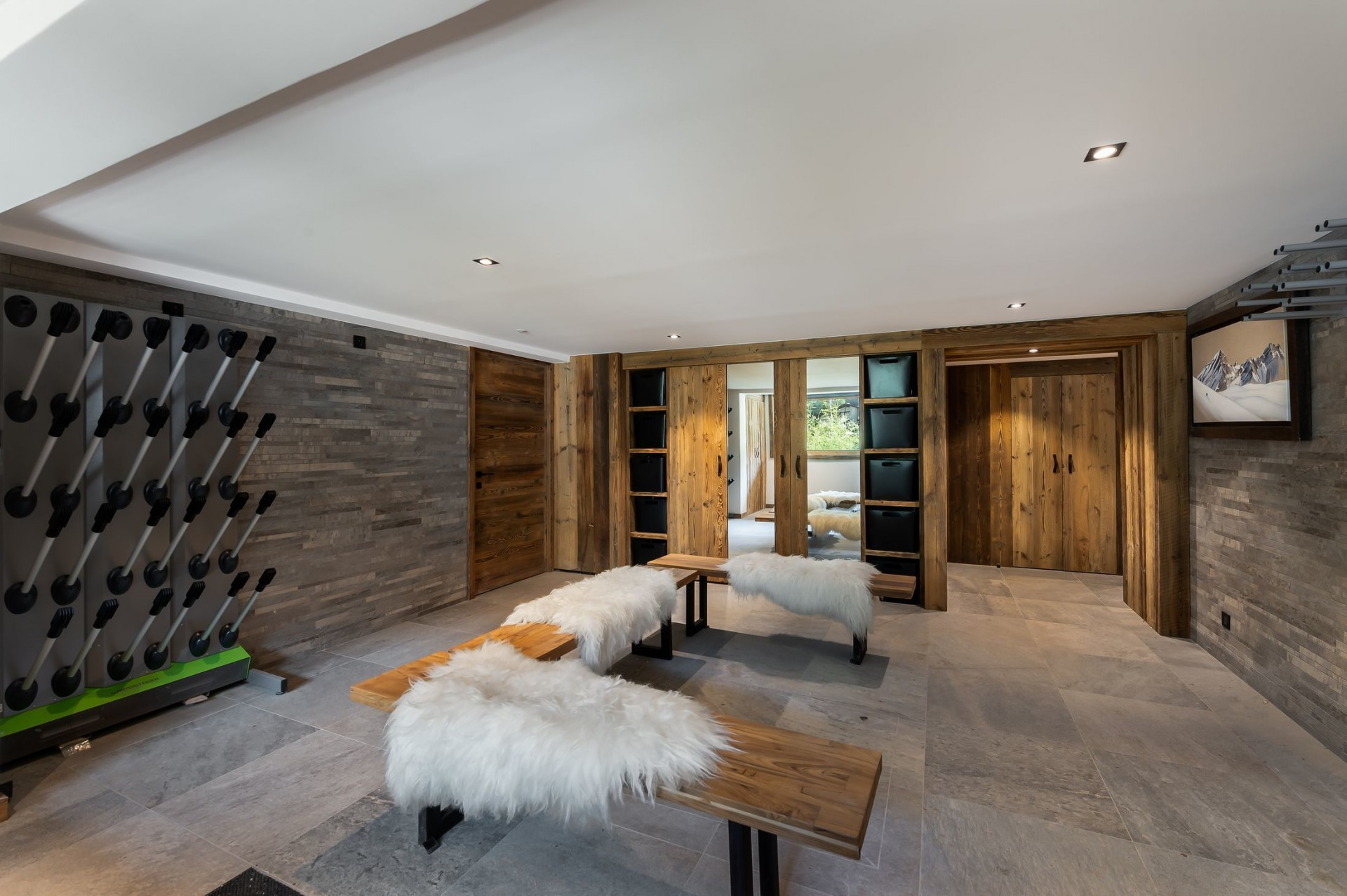 Val d'Isère Location Chalet Luxe Tellanche Local A Ski