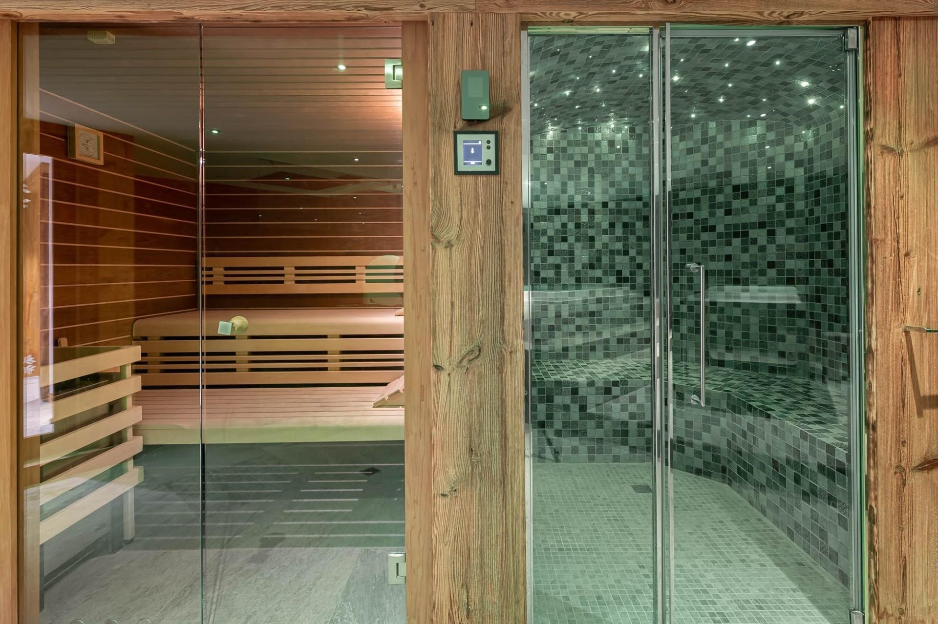 Val d'Isère Location Chalet Luxe Tellanche Sauna
