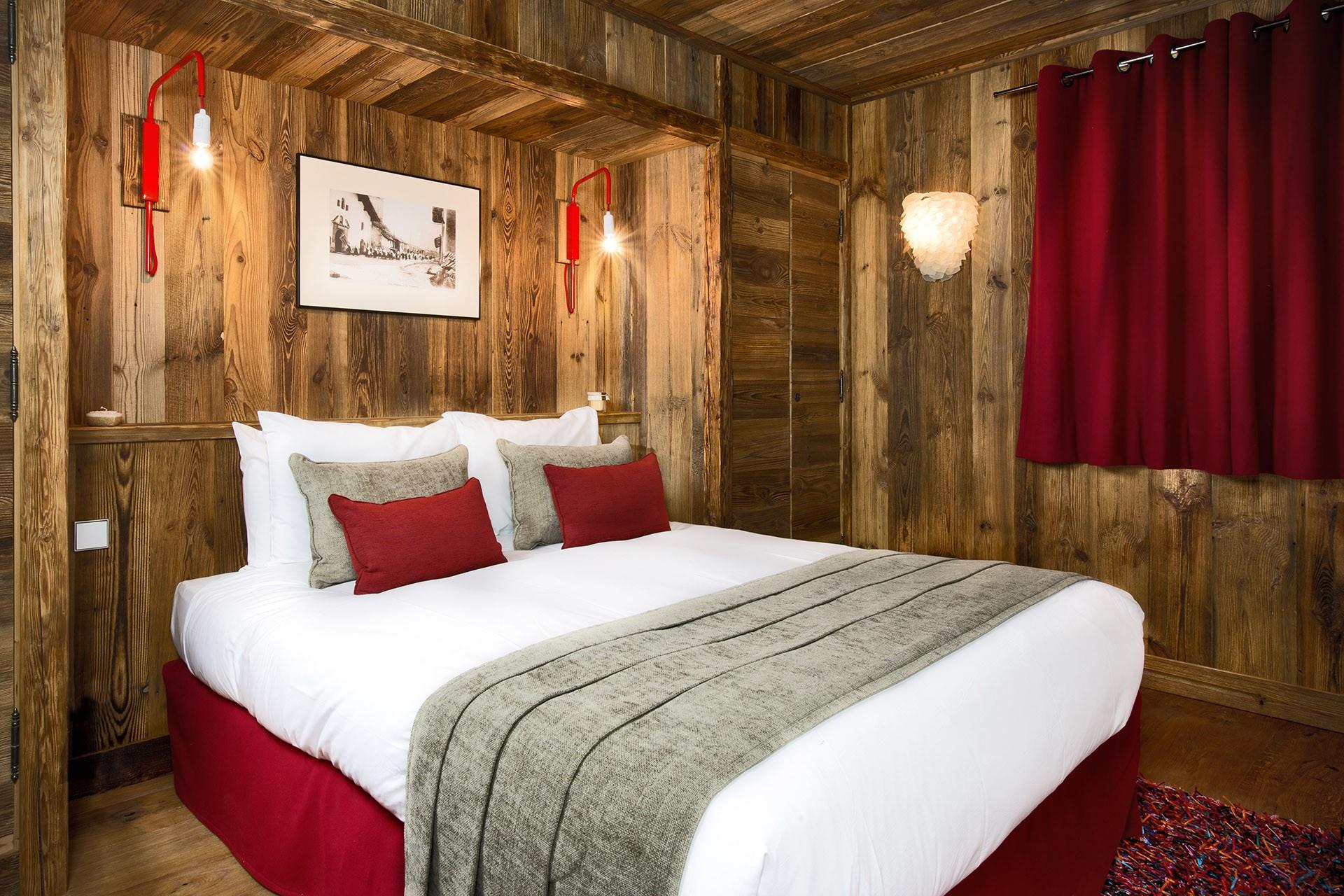 Val D'Isère Luxury Rental Chalet Umbite Bedroom 3