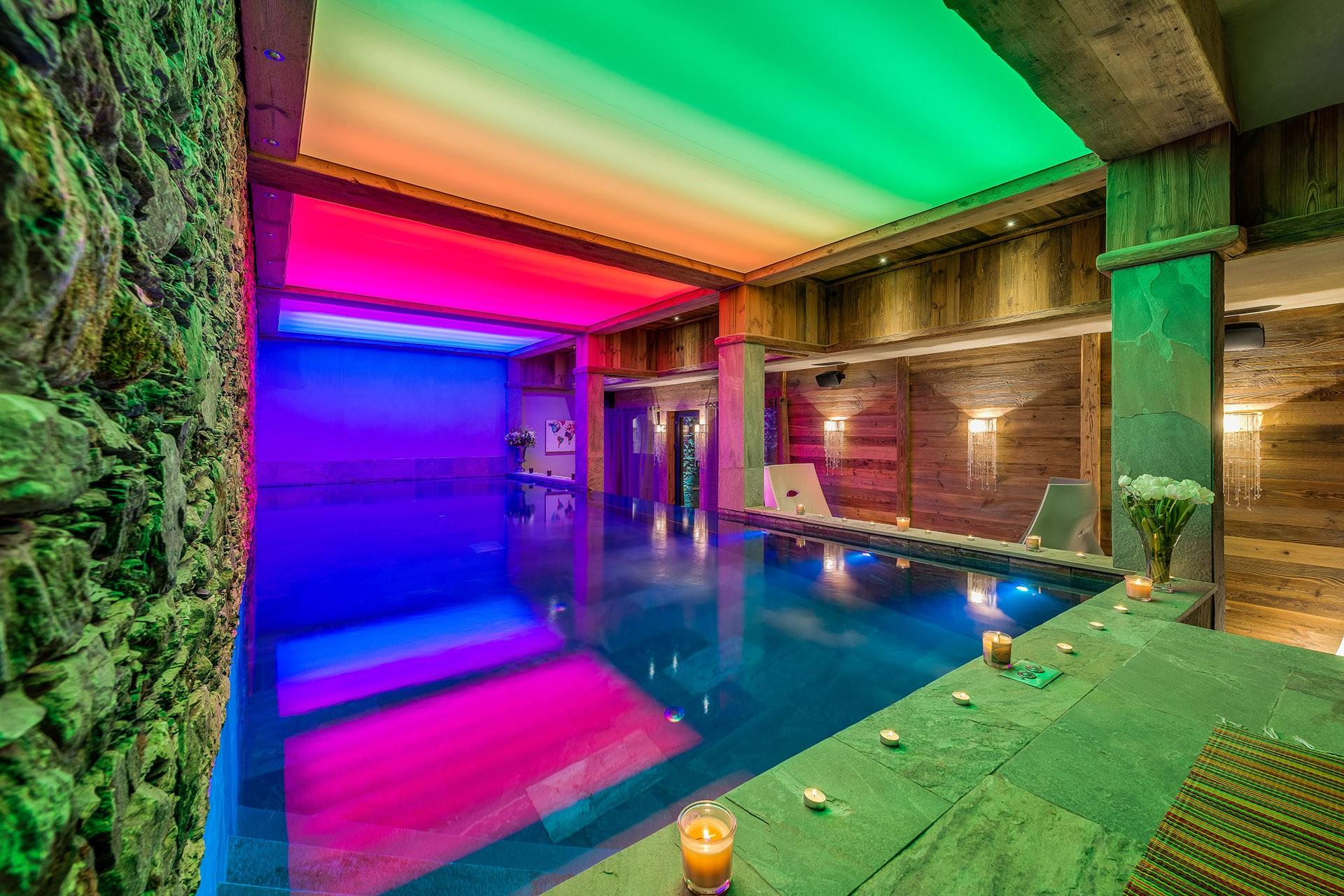Val D'Isère Luxury Rental Chalet Umbute Pool 2