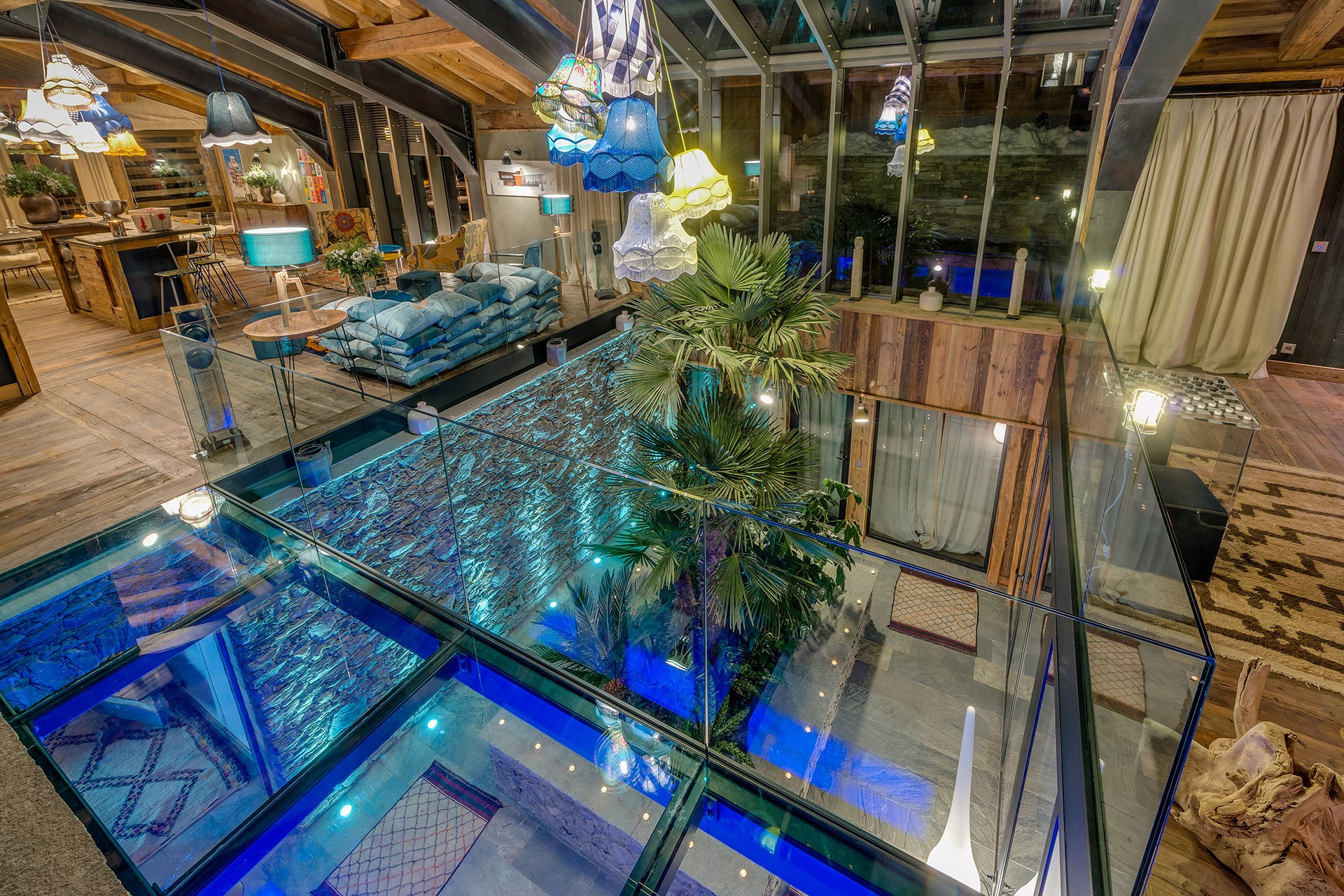 Val D'Isère Luxury Rental Chalet Umbute Living Room