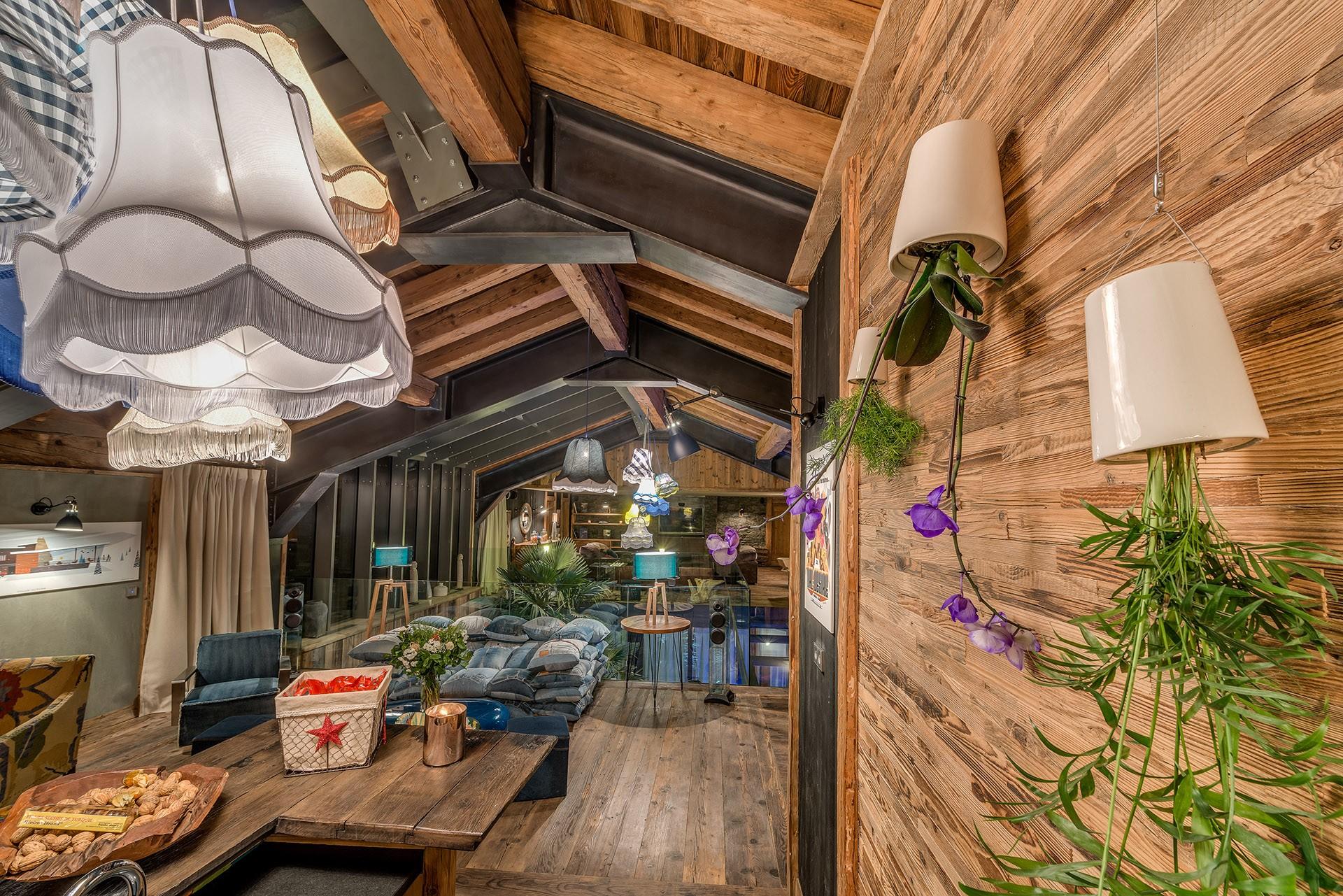 Val D'Isère Luxury Rental Chalet Umbute Living Room 3