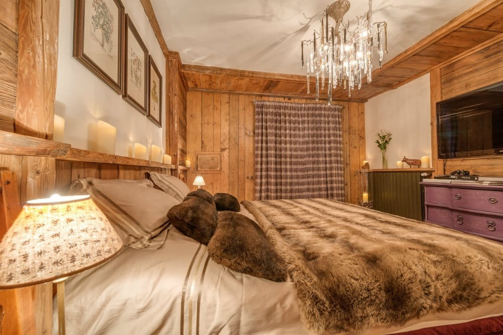 Val d'Isère Location Chalet Luxe Unakite Chambre 2