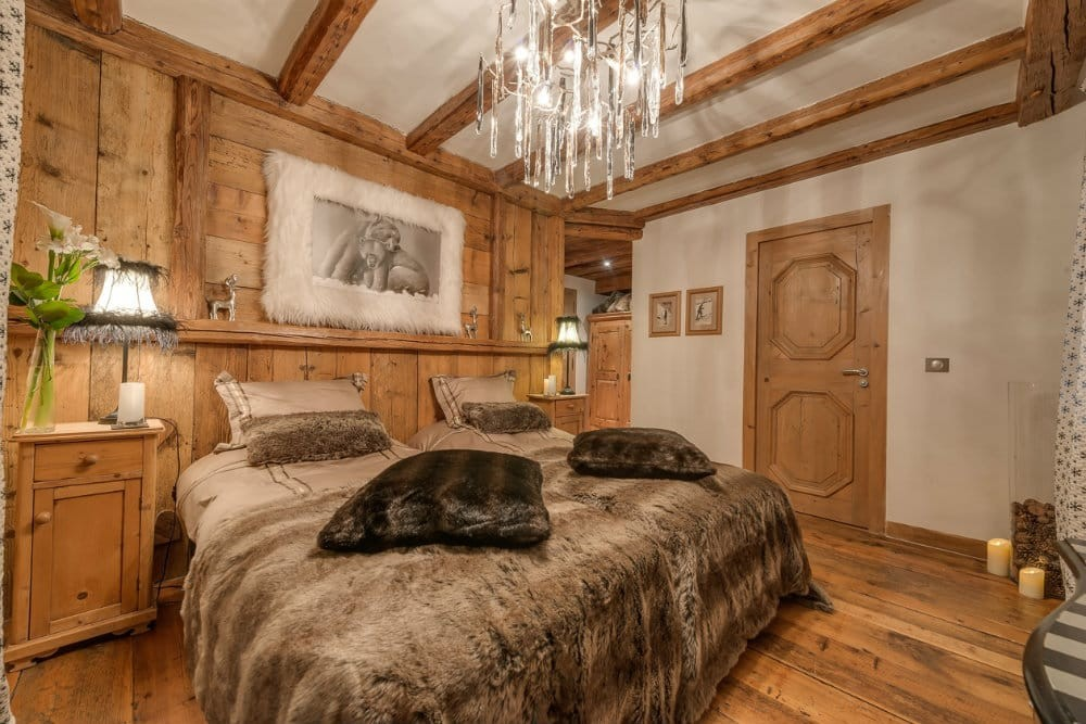 Val d'Isère Location Chalet Luxe Unakite Chambre 3