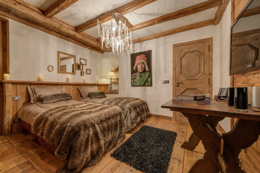 Val d'Isère Location Chalet Luxe Unakite Chambre 4