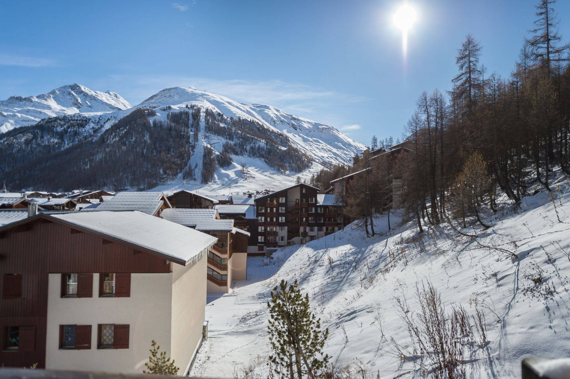 Val d'Isère Location Chalet Luxe Uralelite Extérieur