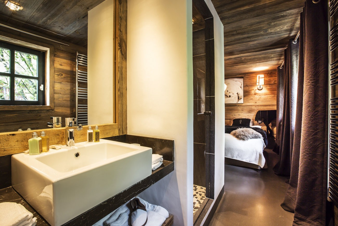 Val d'Isère Location Chalet Luxe Vasel Chambre