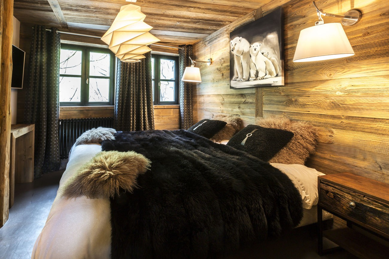 Val d'Isère Location Chalet Luxe Vasel Chambre 4