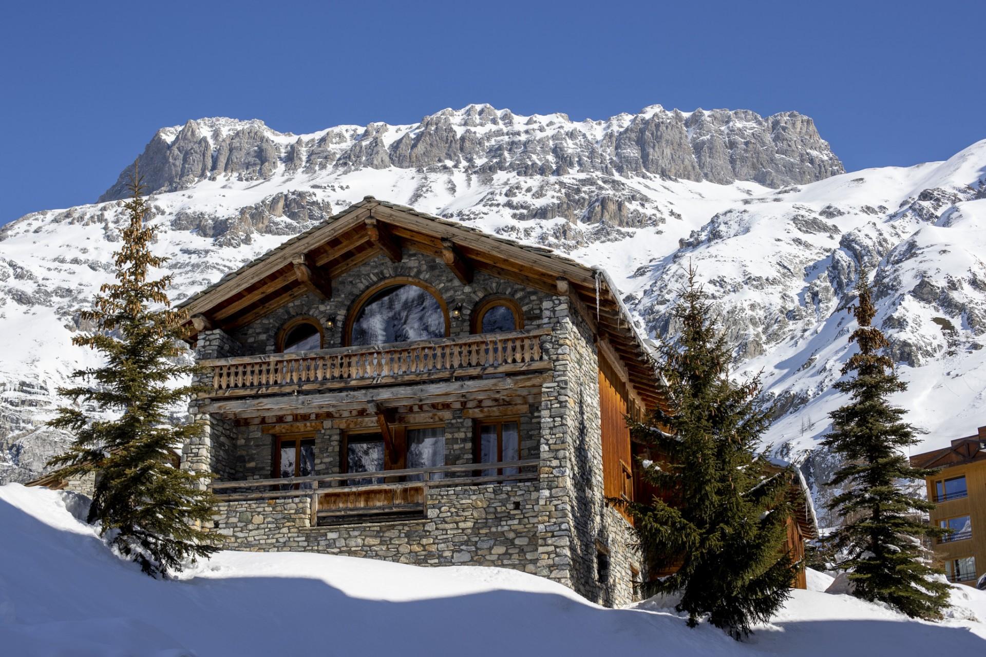 Val D'Isère Location Chalet Luxe Vonsanite Chalet