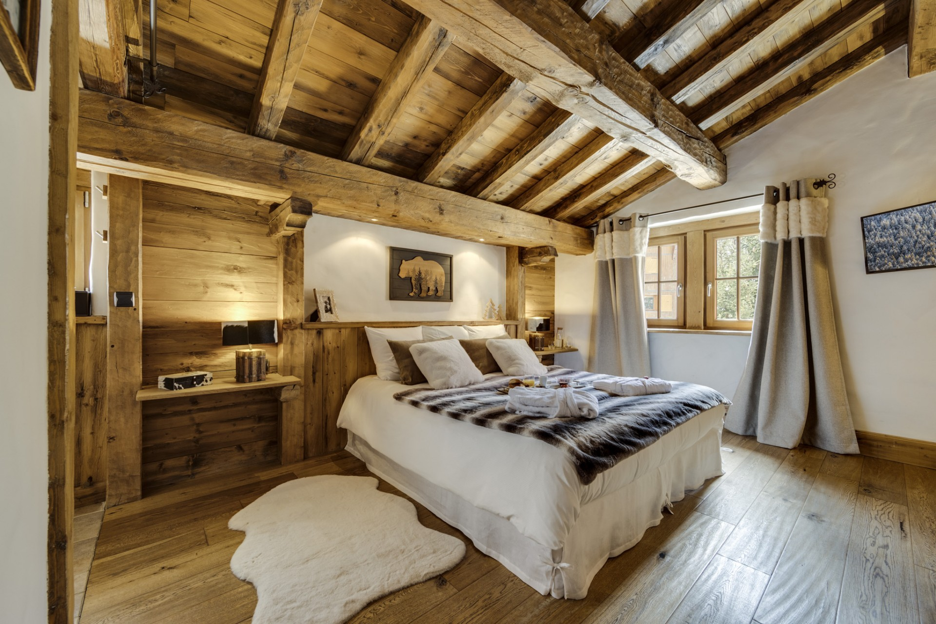 Val D'Isère Location Chalet Luxe Vonsanite Chambre 3