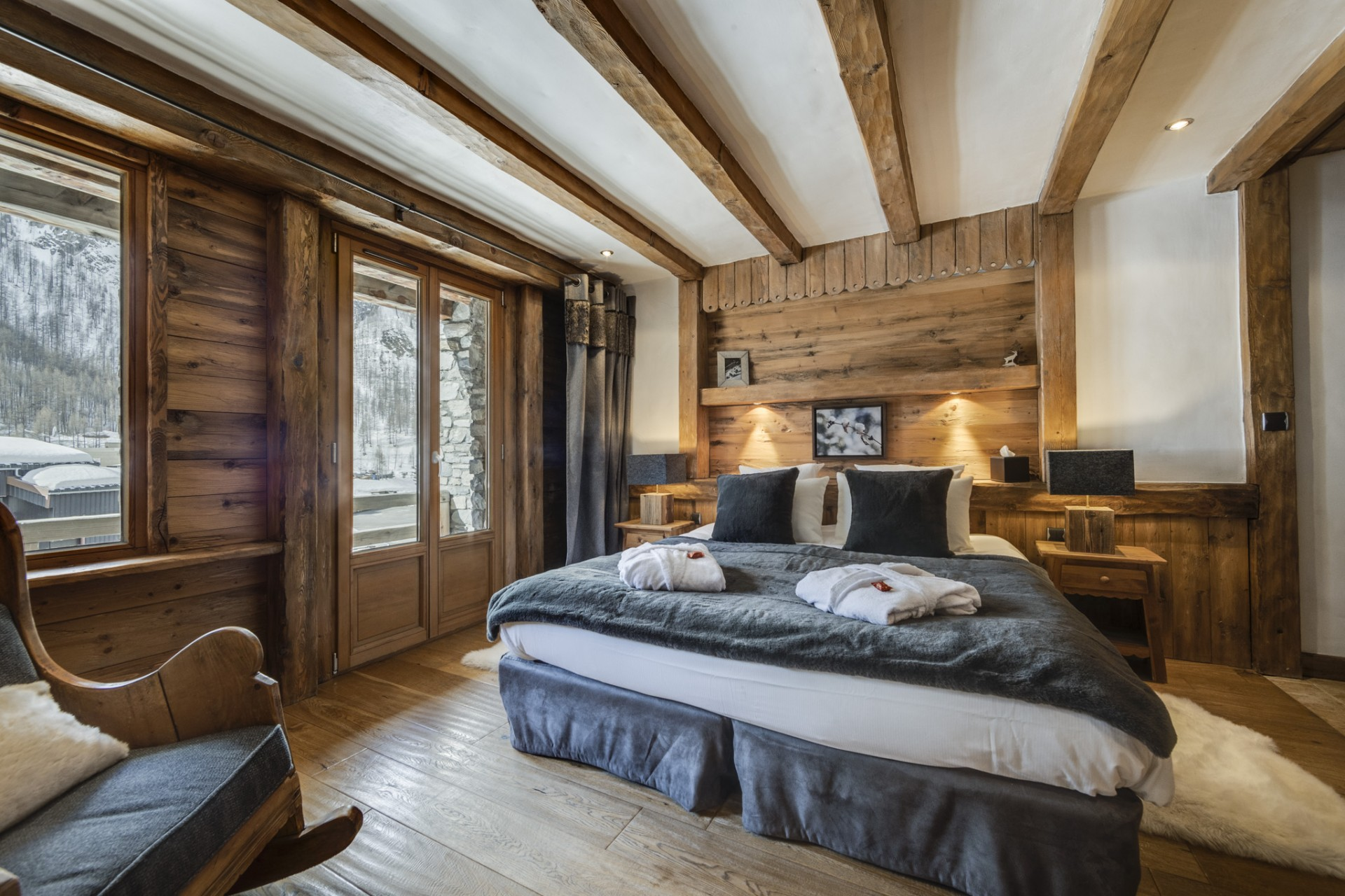 Val D'Isère Location Chalet Luxe Vonsanite Chambre 6