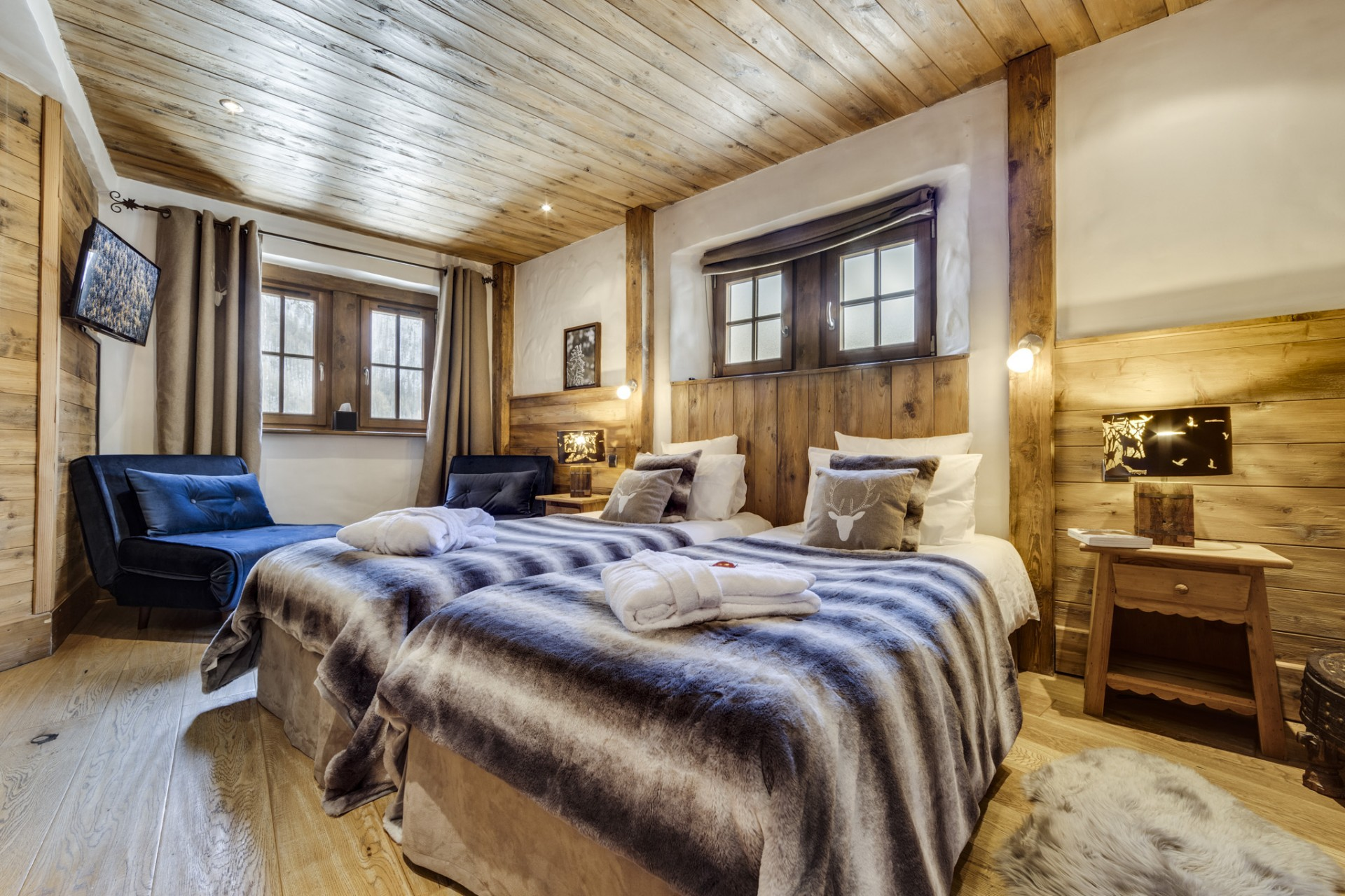 Val D'Isère Location Chalet Luxe Vonsanite Chambre 8