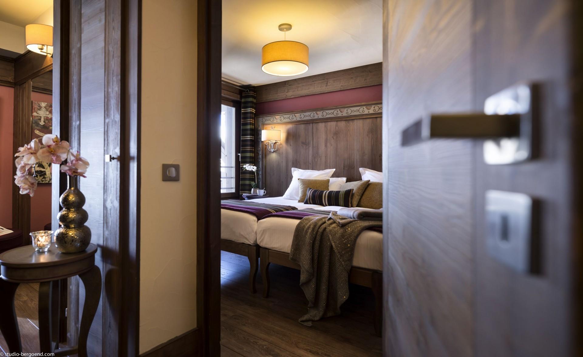 Val Thorens Rental Appartment Luxury Bedroom 1