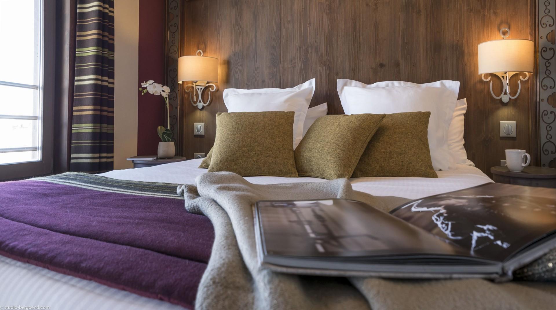 Val Thorens Rental Appartment Luxury Bedroom