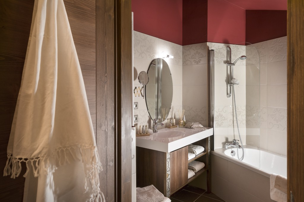Val Thorens Rental Appartment Luxury Bathroom