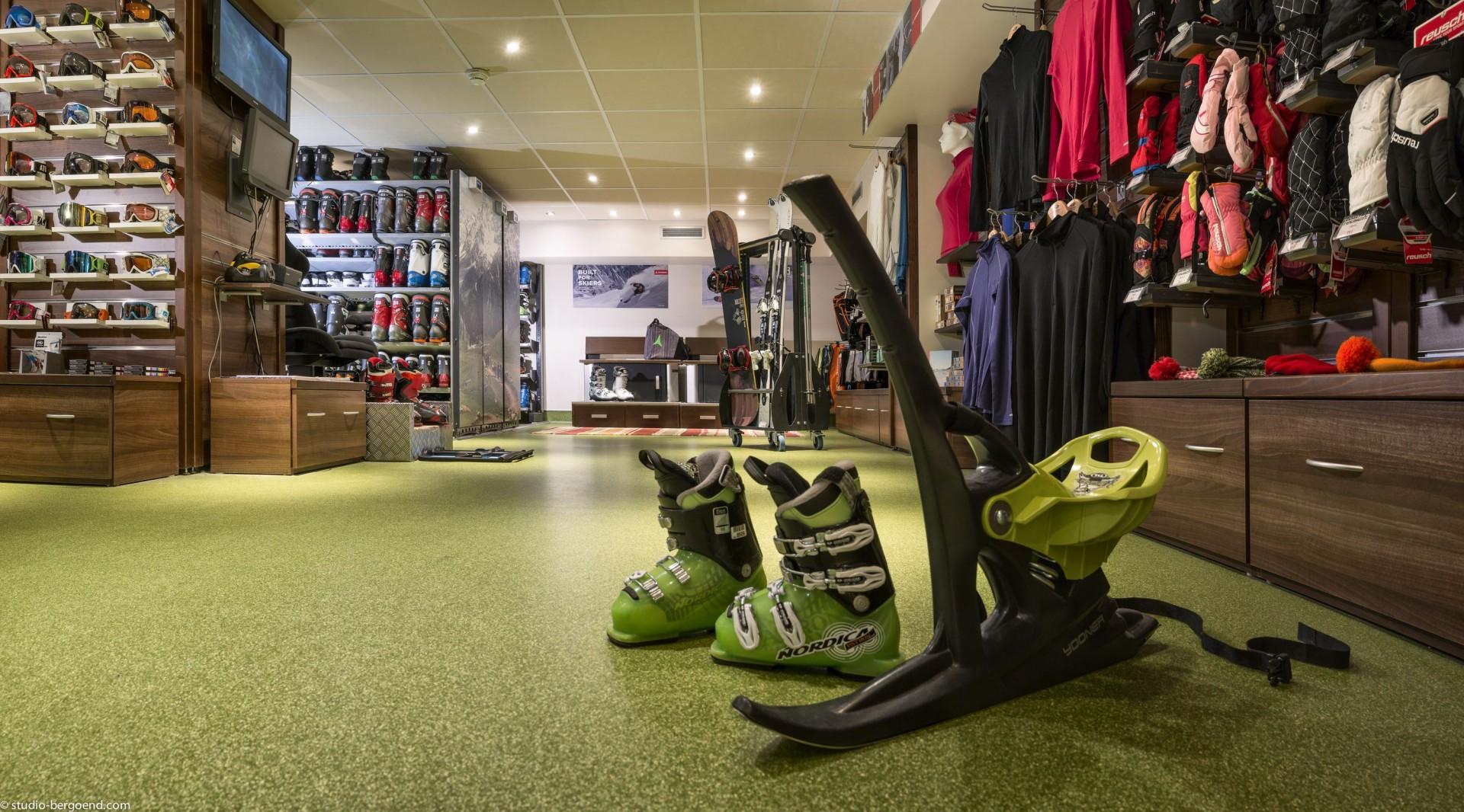 Val Thorens Rental Appartment Luxury Skishop