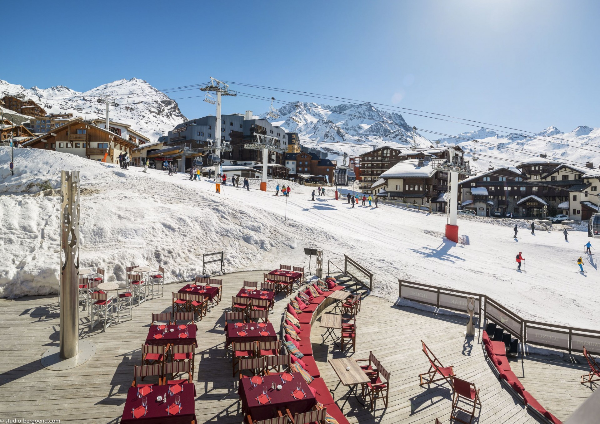 Val Thorens Rental Appartment Luxury Terrace