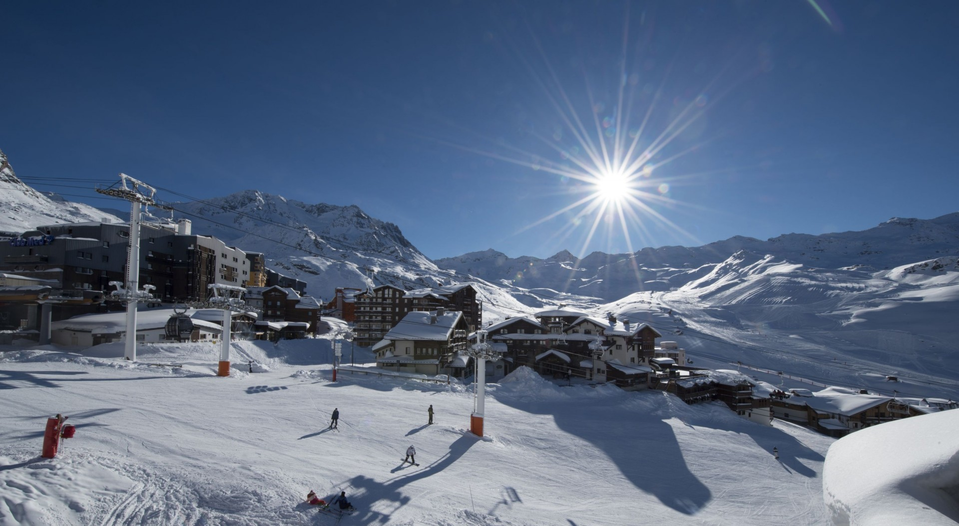Val Thorens Location Appartement Luxe Valykite Extérieur 1