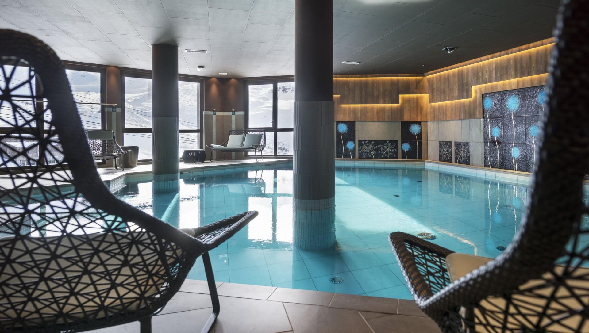 Val Thorens Location Appartement Luxe Valykite Piscine