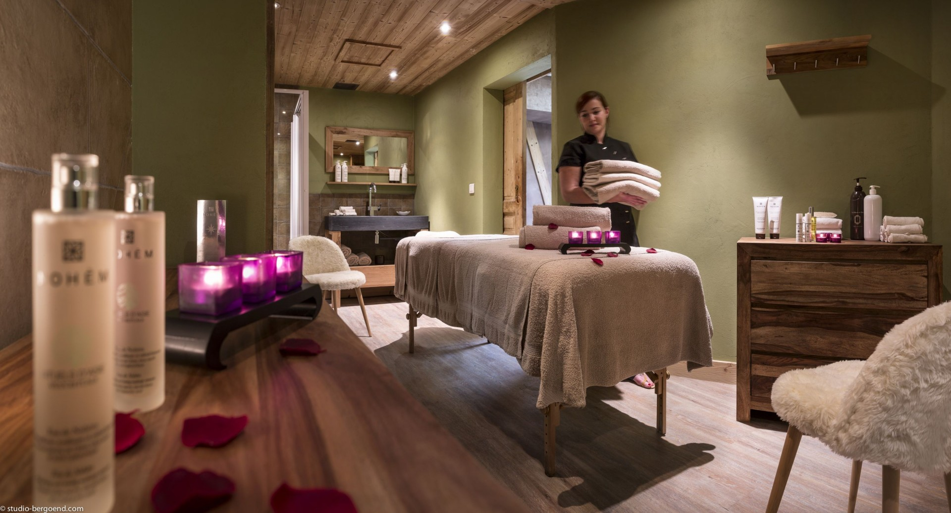 Val Thorens Location Appartement Luxe Volconite Massage
