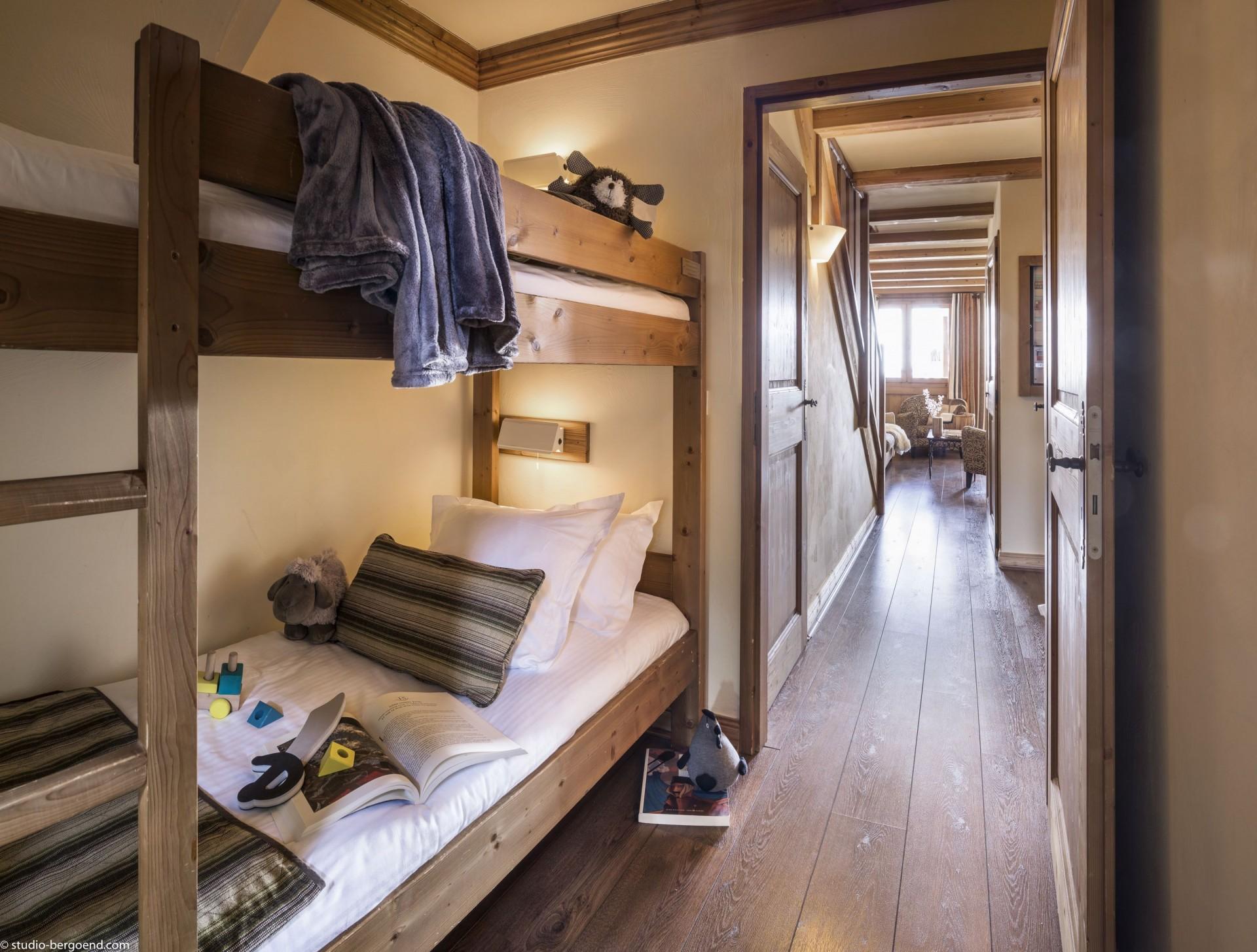 Val Thorens Rental Appartment Luxury Volfsanite Bedroom