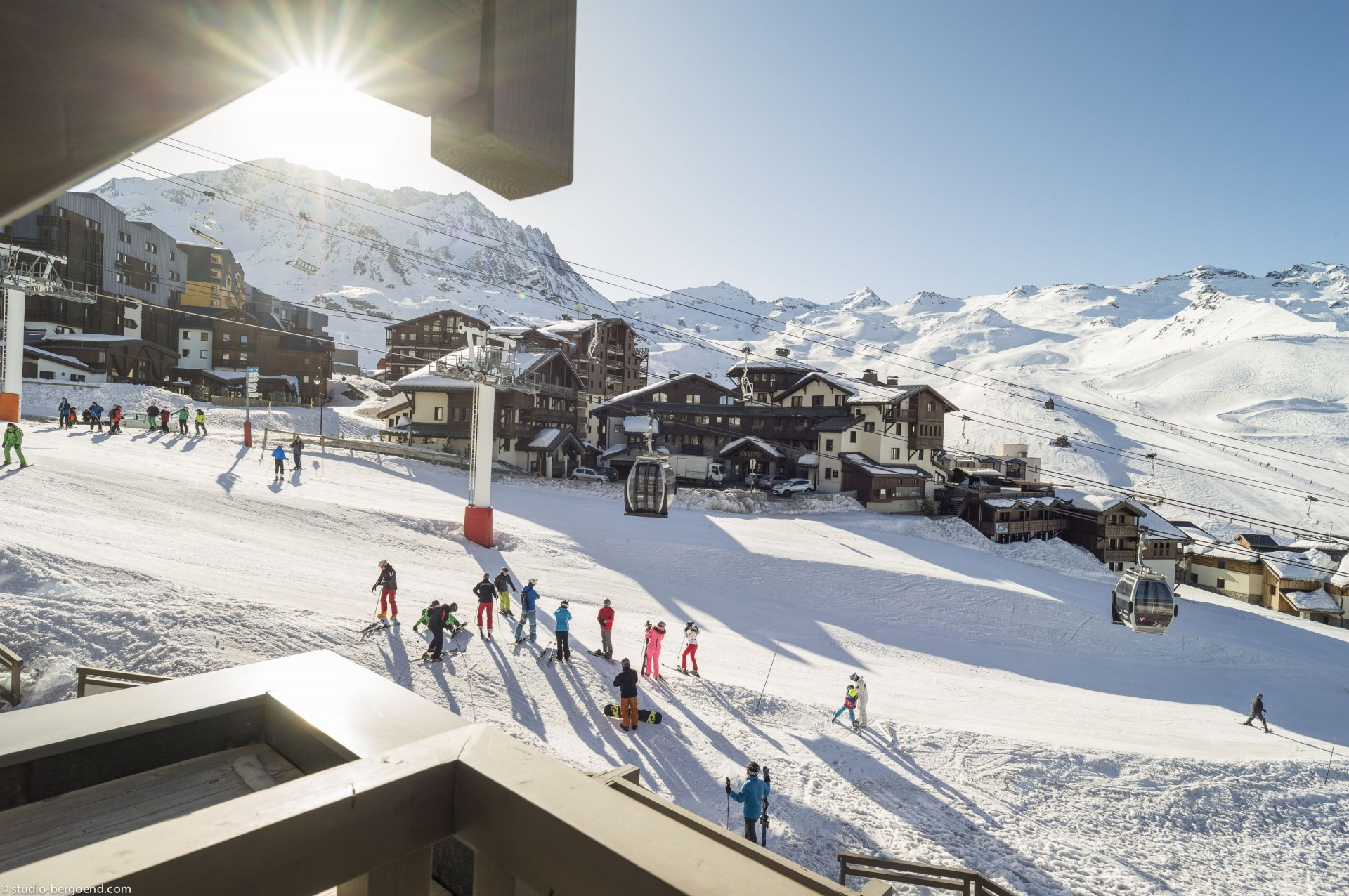 Val Thorens Rental Appartment Luxury Volfsanite Outside 1