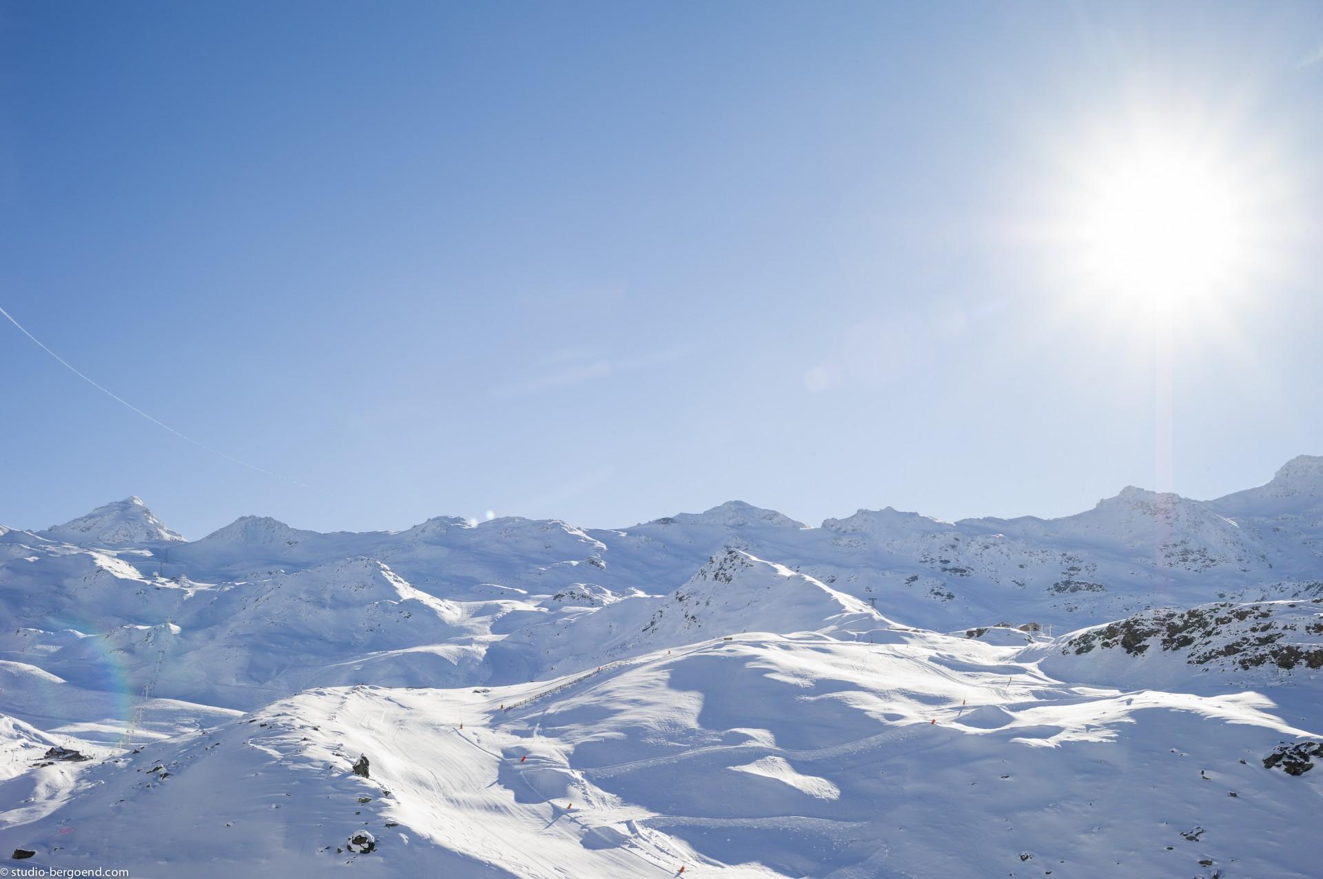 Val Thorens Rental Appartment Luxury Volfsanite Landscape View