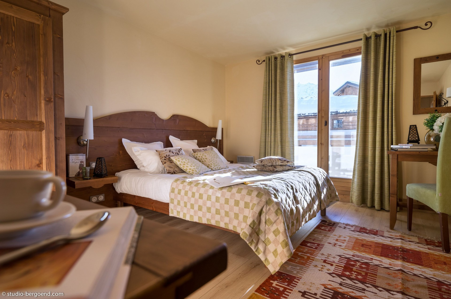 Val Thorens Rental Appartment Luxury Volfsonite Bedroom 1