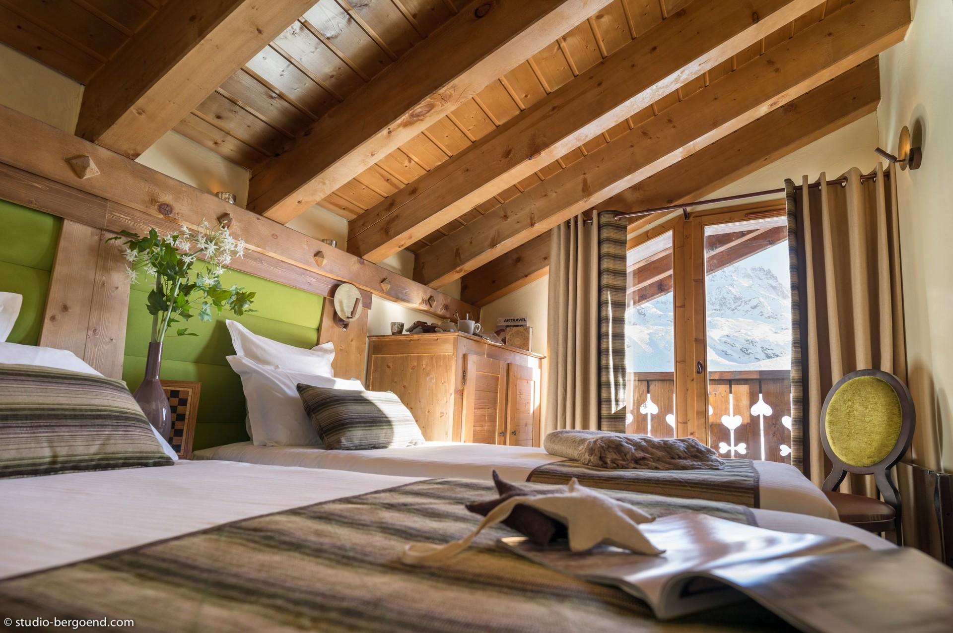 Val Thorens Rental Appartment Luxury Volfsonite Bedroom