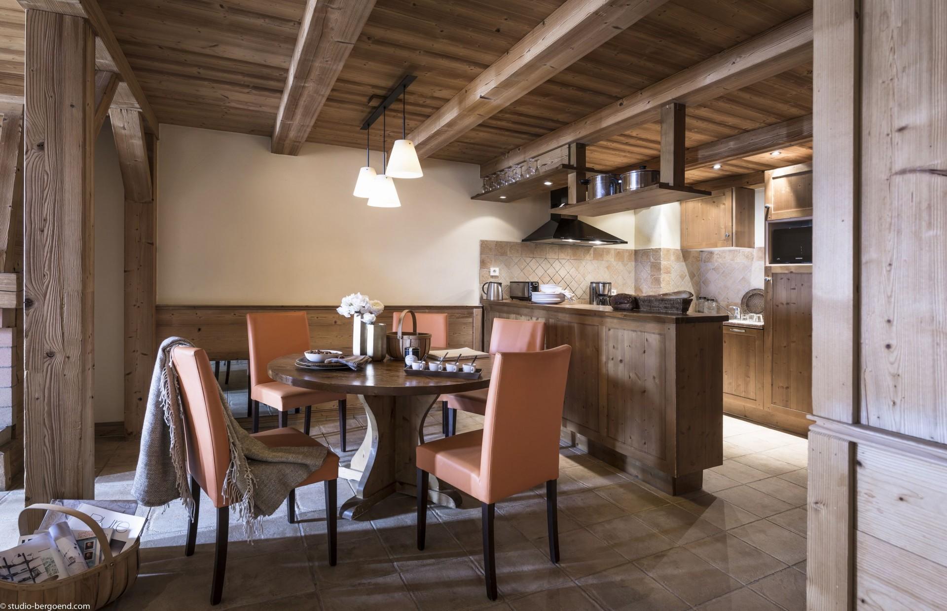 Val Thorens Rental Appartment Luxury Volfsanite Kitchen