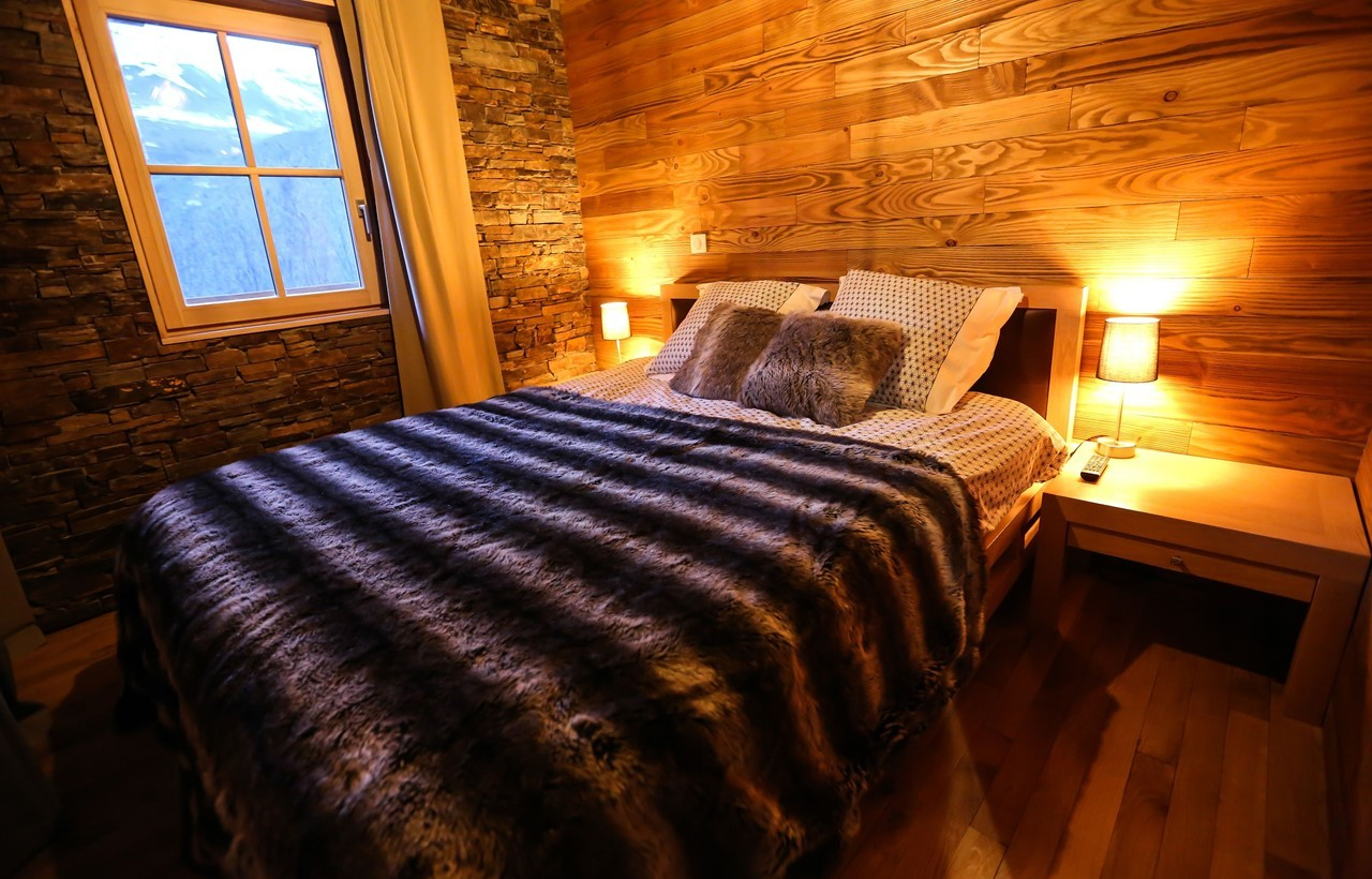 Valloire Location Chalet Luxe Buglose Chambre