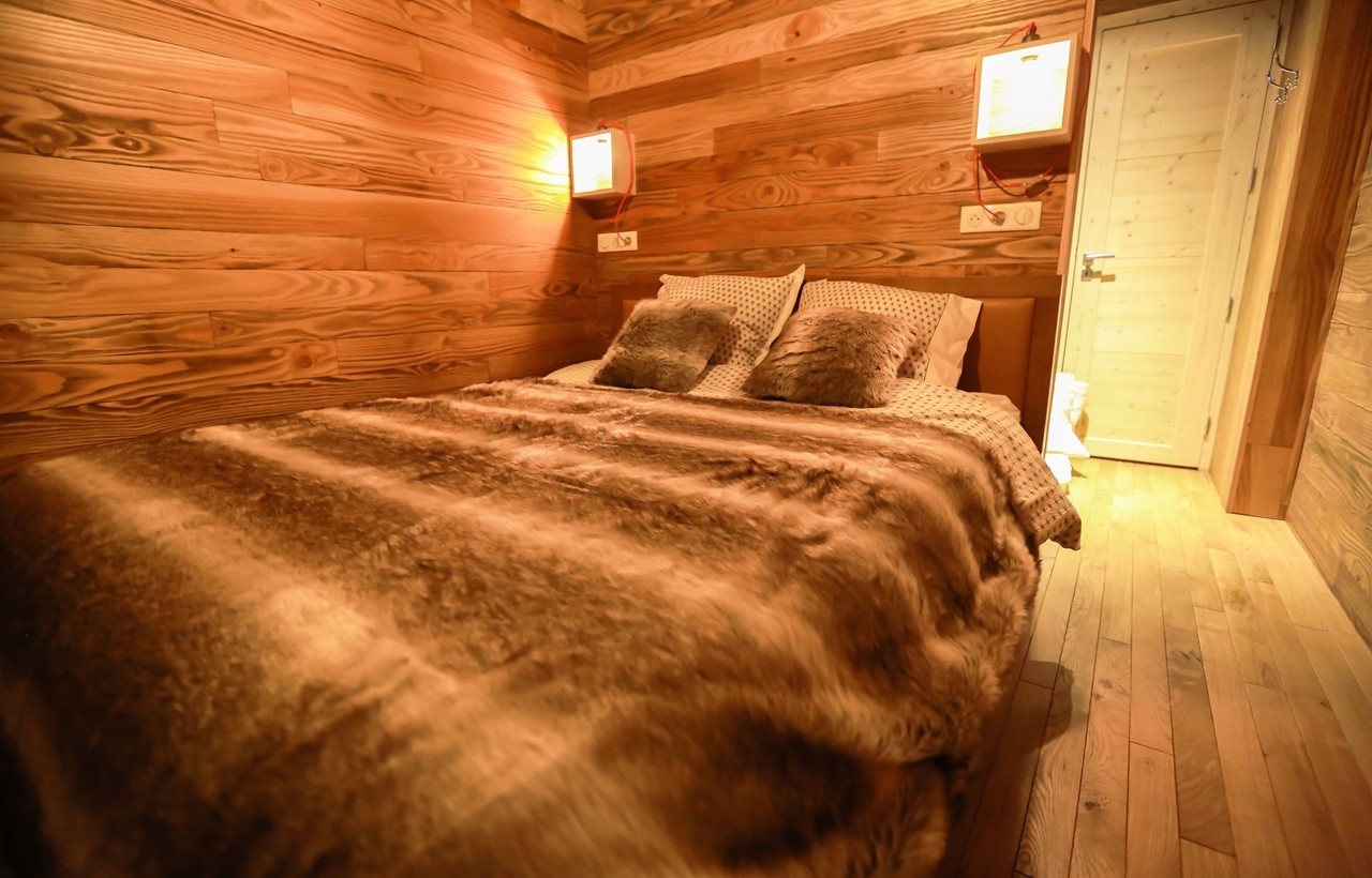Valloire Location Chalet Luxe Buglose Chambre 4