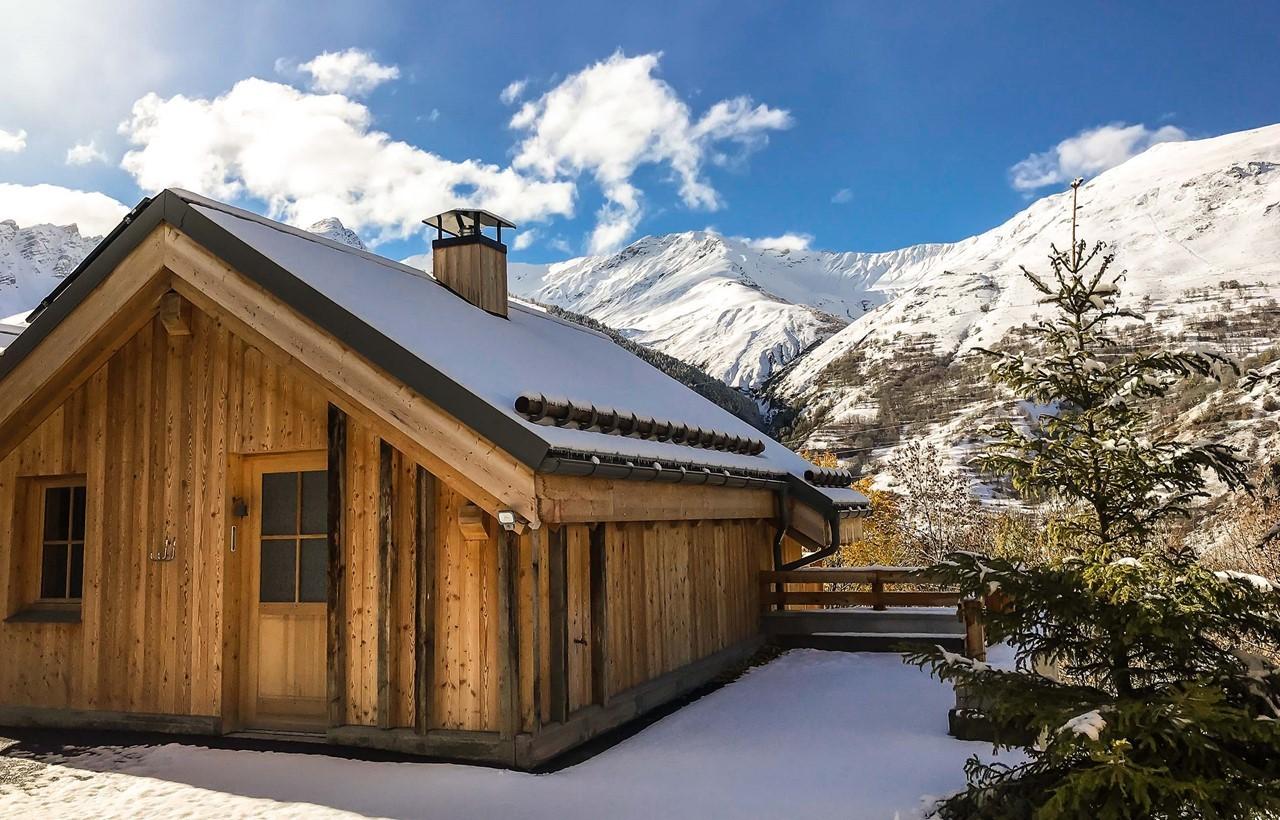 Valloire Location Chalet Luxe Buglose Extérieur 2