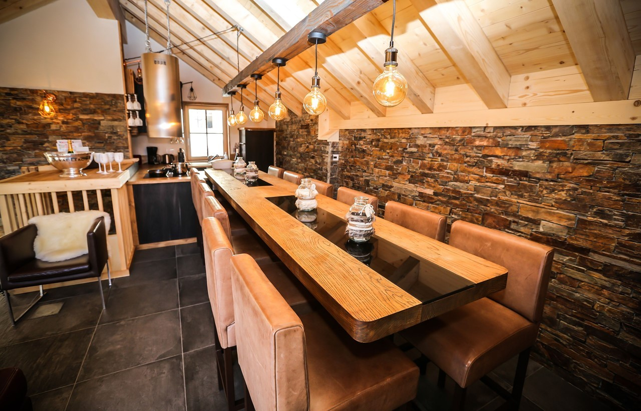 Valloire Location Chalet Luxe Buglose Salle A Manger