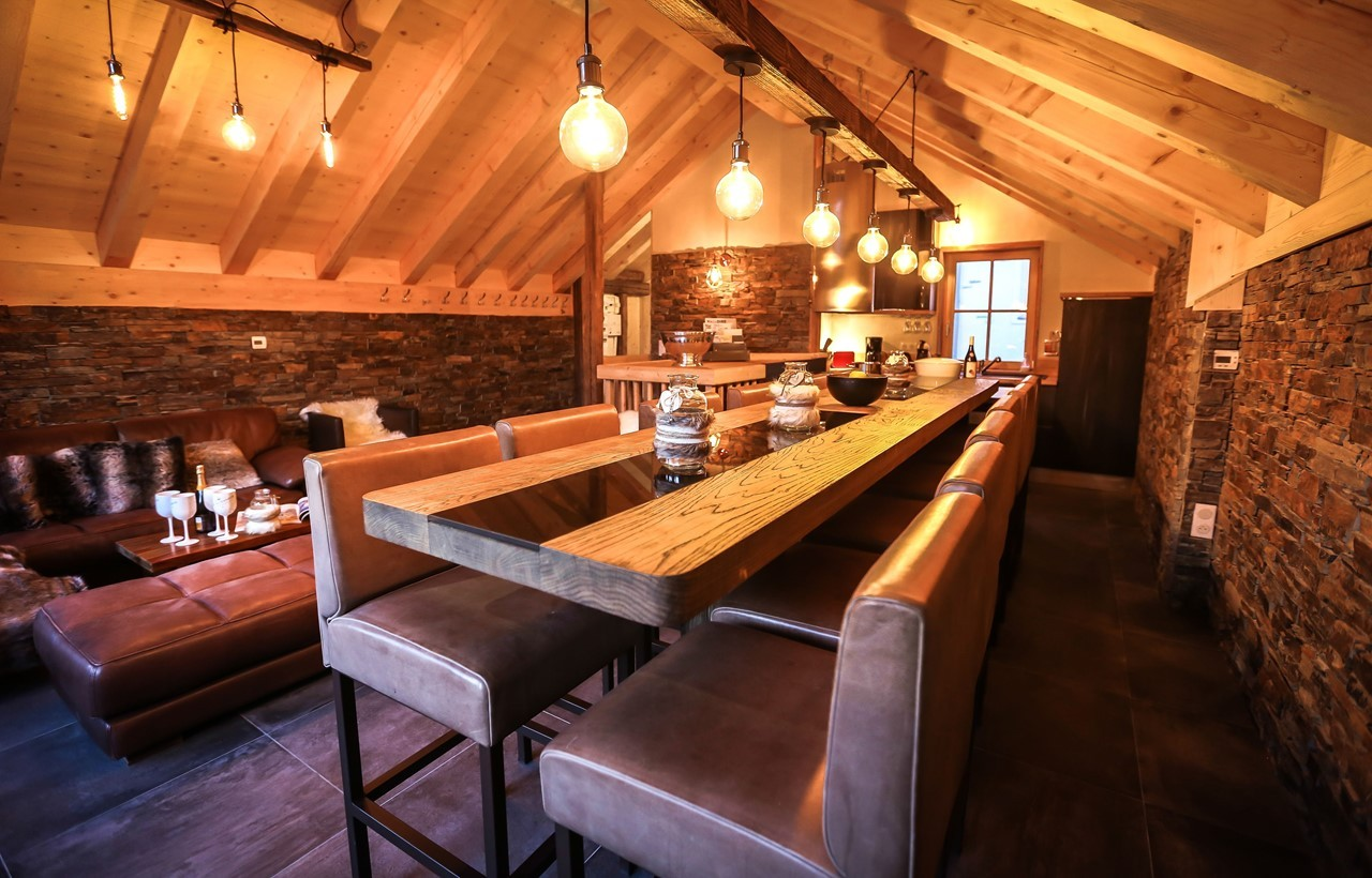Valloire Location Chalet Luxe Buglose Salle A Manger 3