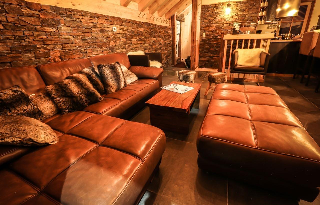 Valloire Location Chalet Luxe Buglose Séjour 2