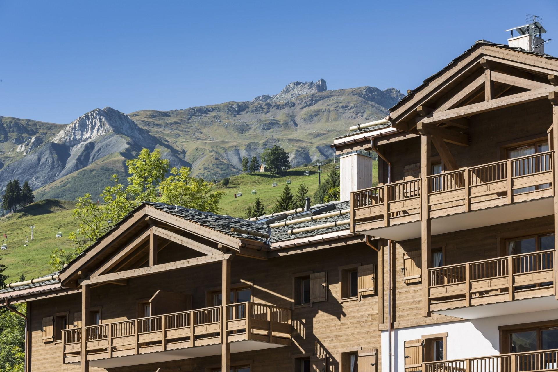 Valmorel Location Appartement Luxe Ferrucite Extérieur 7