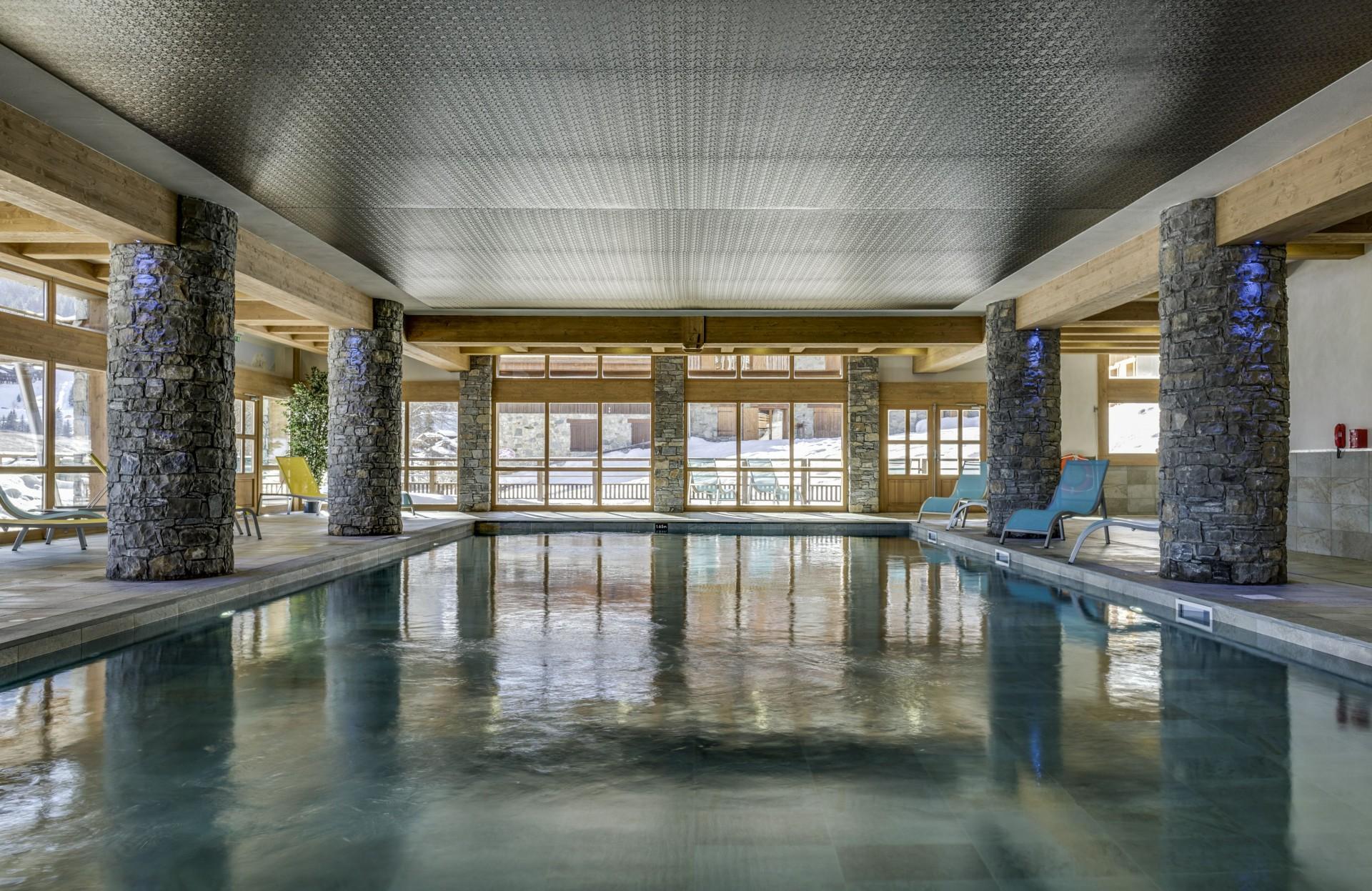 Valmorel Location Appartement Luxe Ferrucite Piscine