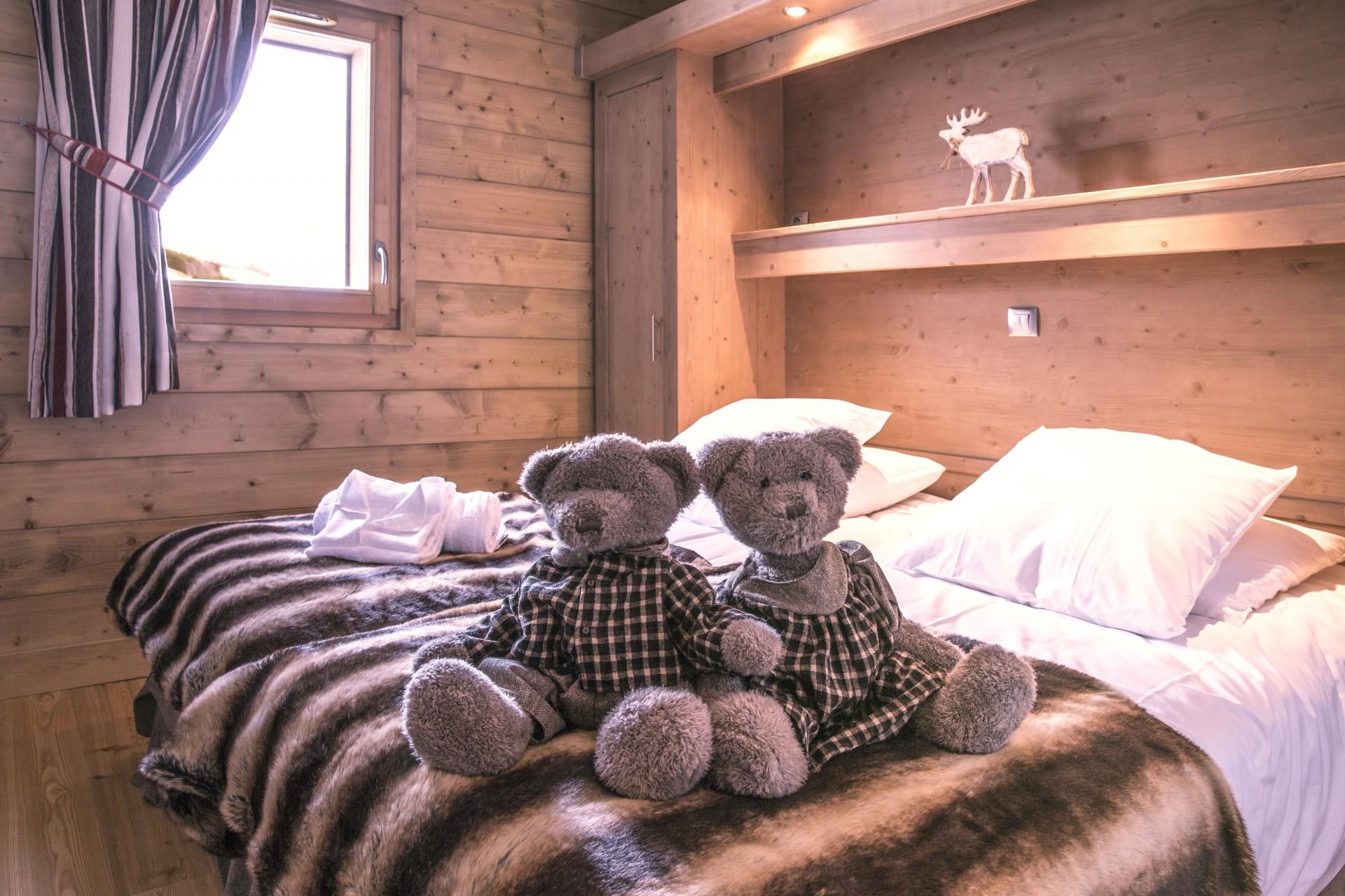Valmorel Location Appartement Luxe Ferune Chambre