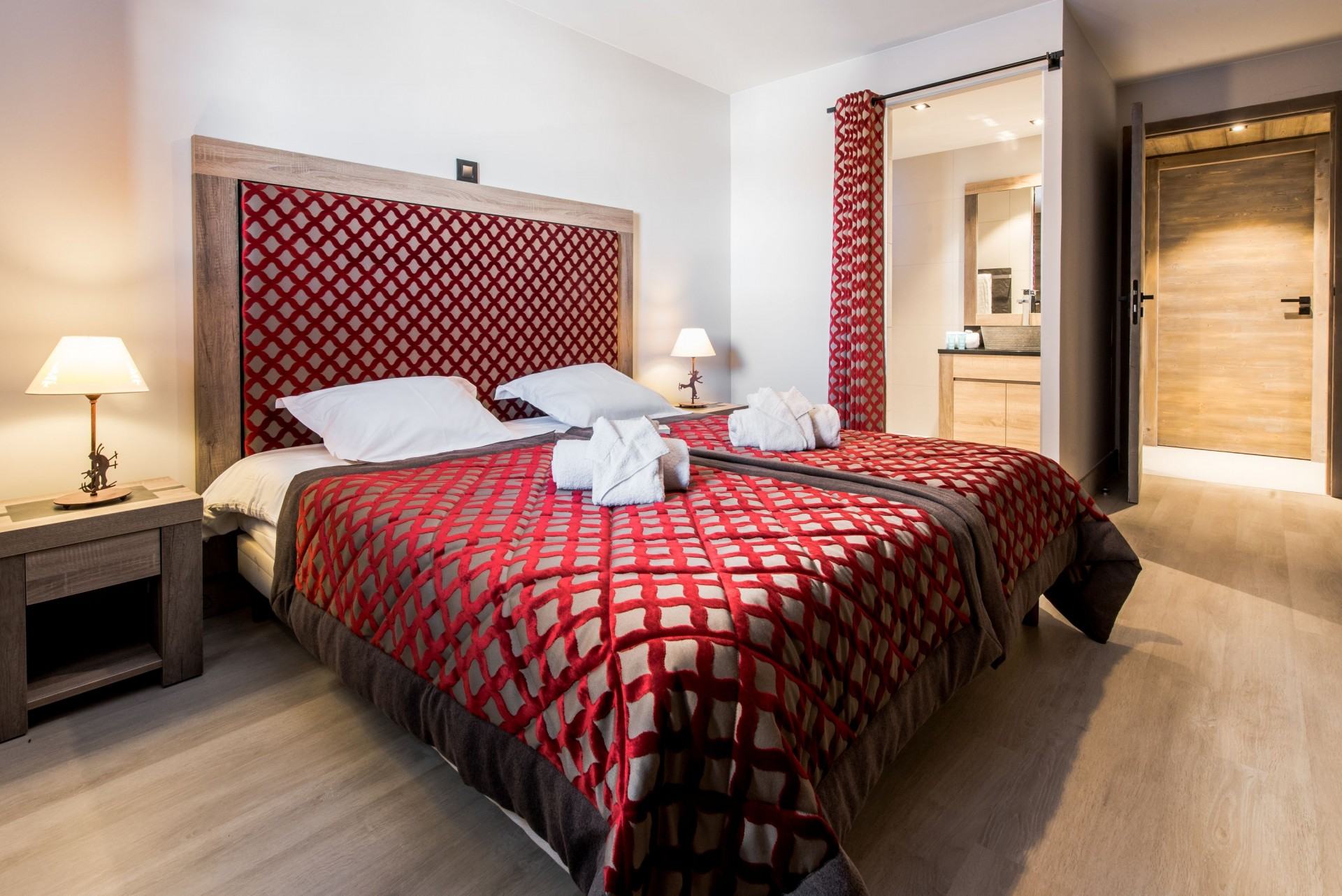 Vars Location Appartement Luxe Pennine Chambre 2