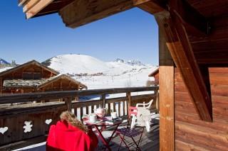 Alpe d'Huez Location Chalet Luxe Abelsonite Exterieur